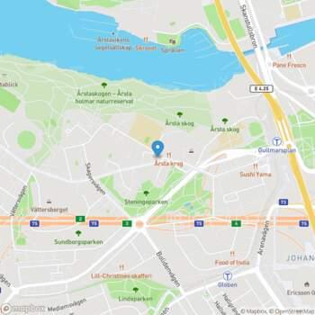 1 rum lejlighed i Årsta