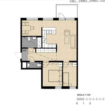 2 rum lägenhet i Huddinge